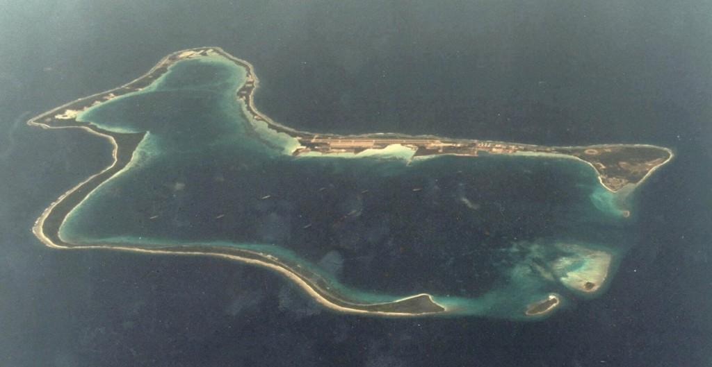 เกาะดิเอโก การ์เซีย ที่ถูกสหรัฐตั้งเป็นฐานทัพของตน ควบคุมมหาสมุทรอินเดีย
