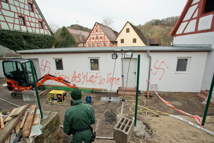 GERMANY-REFUGEES-ARSON