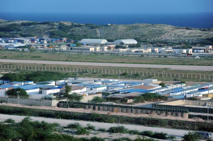 ฐานทัพของกองกำลังต่างชาติในโซมาเลีย