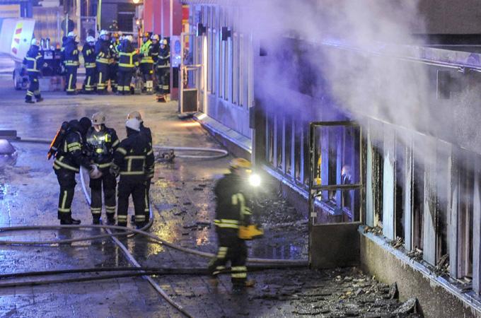 คนร้ายลอบเผามัสยิดในสวีเดน